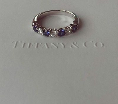 Second Hand Tiffany & Co. Diamond Band. Save money off retail with pre-loved diamond jewellery.
