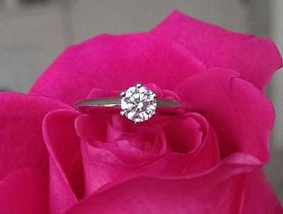 Vintage Tiffany & Co. Engagement Ring Save off Retail with this Pre Loved Diamond Engagement Ring