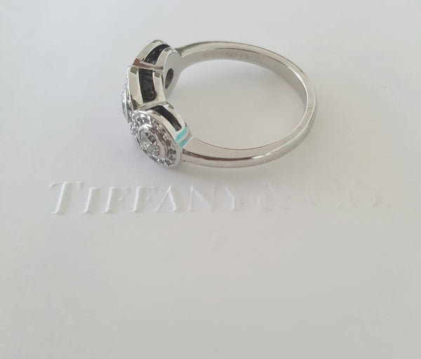 Tiffany & Co. 0.55tcw Circlet Engagement Anniversary Dress Ring Plat RRP $8400