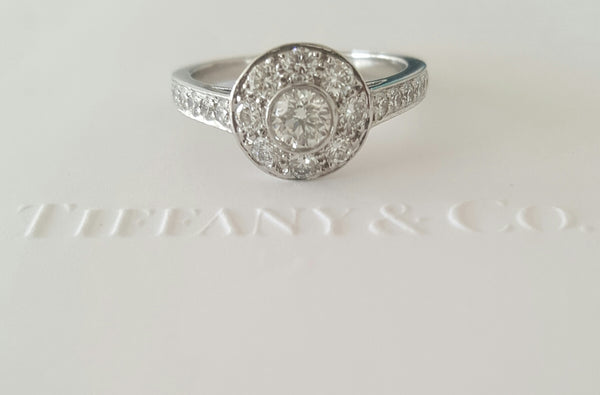 Tiffany & Co. 0.64tcw Diamond Single Circlet Engagement Ring in Platinum