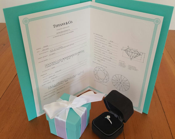 Pre Loved Tiffany & Co. Diamond Engagement Ring