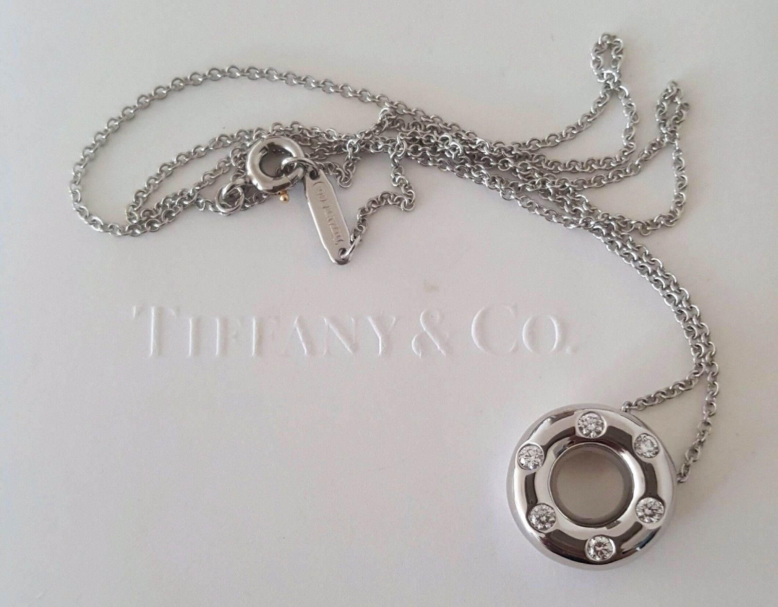 Vintage Tiffany & Co. Diamond Pendant