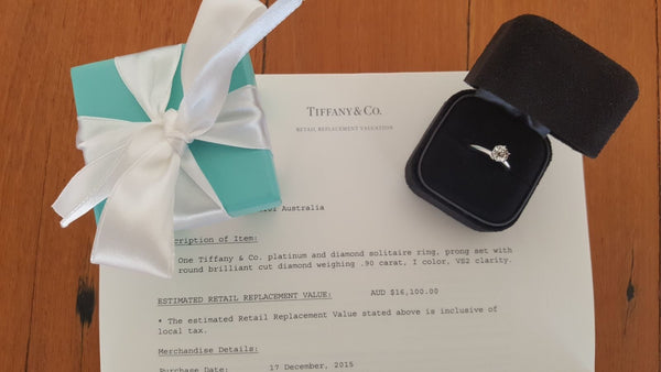 Save money on Vintage Tiffany & Co. Diamond Engagement Ring.