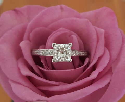 Vintage Tiffany & Co. Engagement Ring