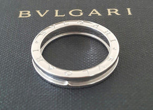 Bulgari Bvlgari BZero1 1 Band Ring in 18ct White Gold Ring REF: AN852423 US 11