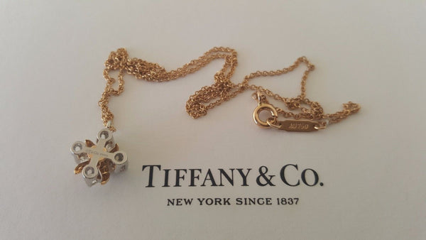 Vintage Tiffany and Co. Diamond Necklace