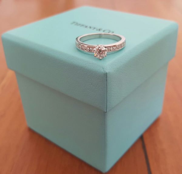 Used Tiffany & Co. Engagement Ring