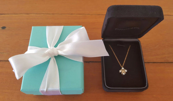 Vintage Tiffany and Co Diamond Necklace