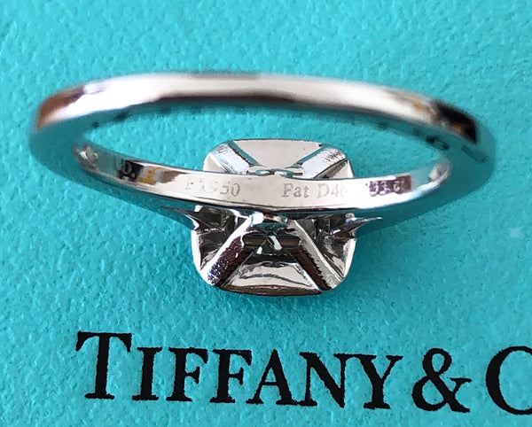Tiffany & Co. 0.81tcw F/VVS1 Diamond Legacy Engagement Ring