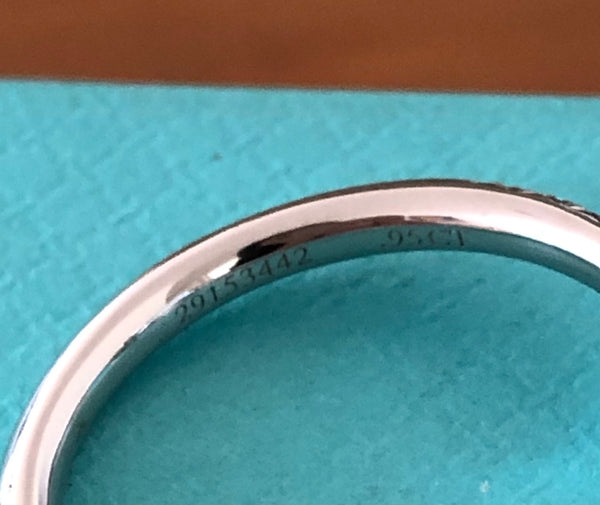 Tiffany & Co. 1.30tcw Fancy Intense Yellow Soleste Diamond Engagement Ring PT950
