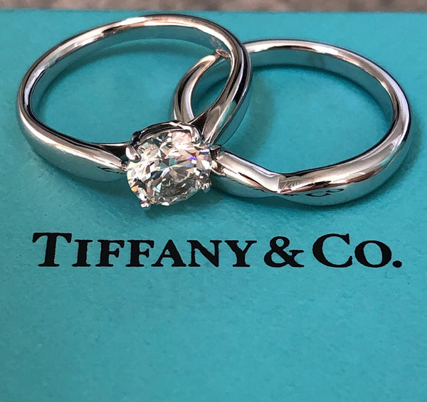 Tiffany & Co. 0.90ct I/VS1 Harmony Diamond Solitaire Engagement Ring Cert/Val