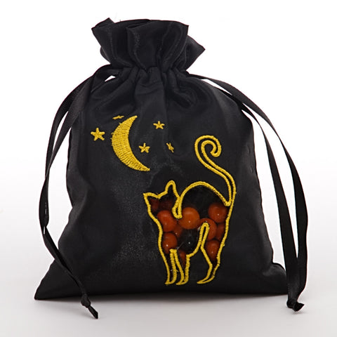 Black Halloween Cat Bag