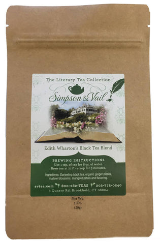 Edith Wharton's Black Tea Blend - 1oz