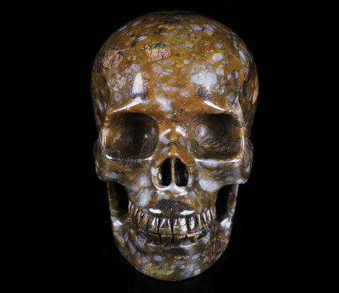 Vulcanite Natural Crystal Skull