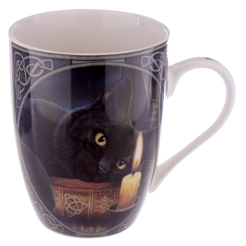 Witching Hour Black Cat Mug