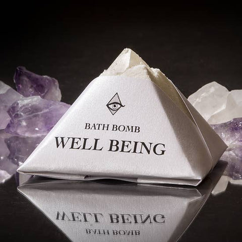 Well Being Bath-bomb with Charged Crystal