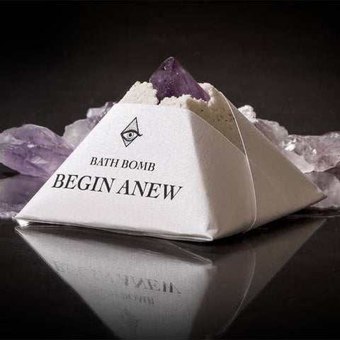 Begin Anew Bathbomb with Charged Crystal