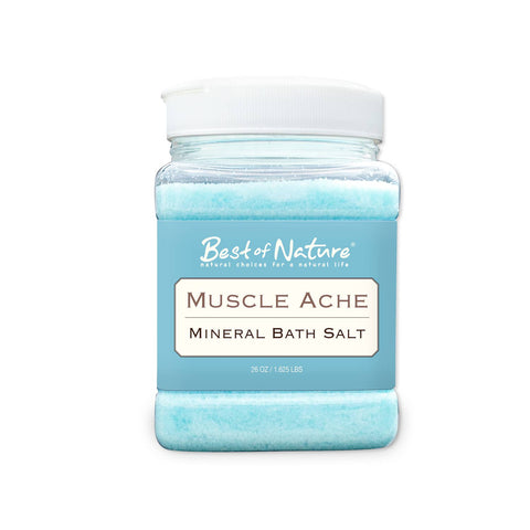 Muscle Ache Mineral Bath Salt – 26 oz