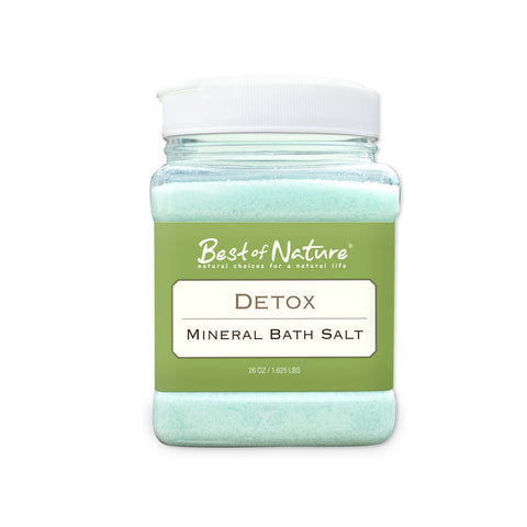 Detox Mineral Bath Salt – 26 oz