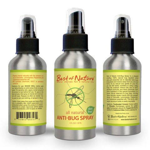 Natural Insect Repellent Anti-Bug Spray