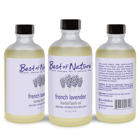 French Lavender Bath Oil
