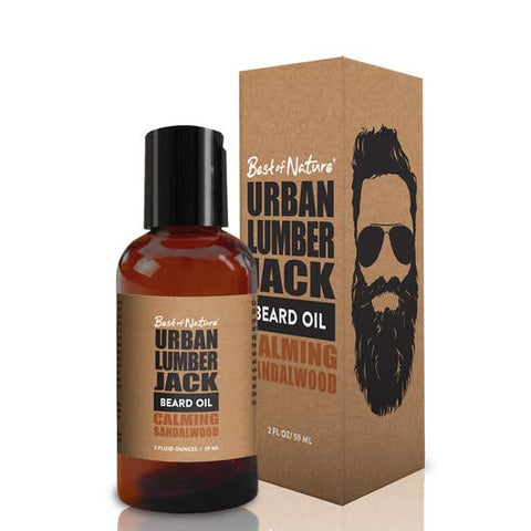 Urban Lumberjack Beard Oil - Calming Sandalwood