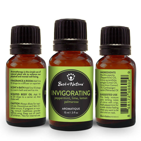 Invigorating Aromatique Essential Oil Blend