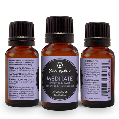 Meditate Aromatique Essential Oil Blend