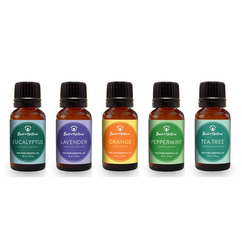 Essential Oil Aromatherapy Gift Set