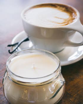 Vanilla Latte Candle 6oz