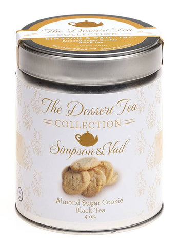 Almond Sugar Cookie Dessert Tea