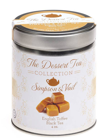 English Toffee Black Dessert Tea