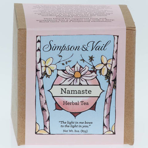 Namaste - Yoga Herbal Tea - 3oz box