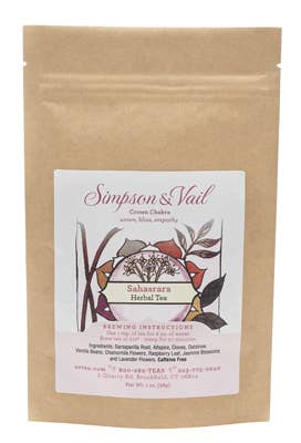 Crown Chakra (Sahasrara) - Yoga Herbal Tea - 1oz pkg