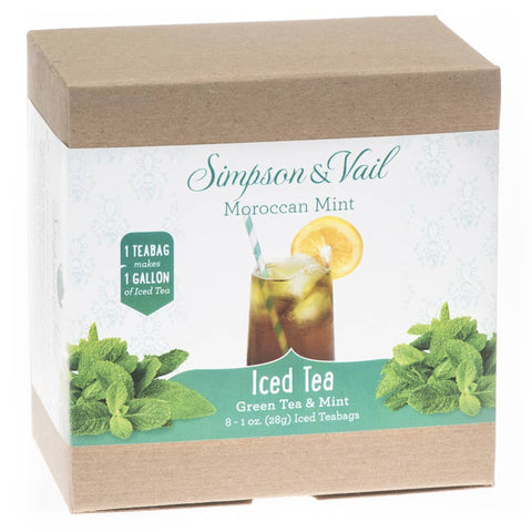 Moroccan Mint Iced Teabags (8/box)