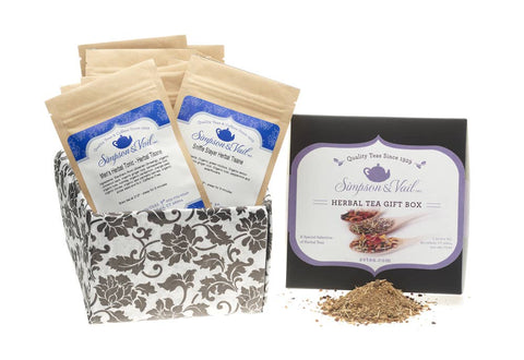 Herbal Wellness Tea Sampler - Gift Box
