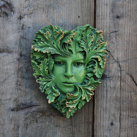 Primavera Greenwoman Plaque