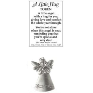 Angel Pocket Token - A Little Hug