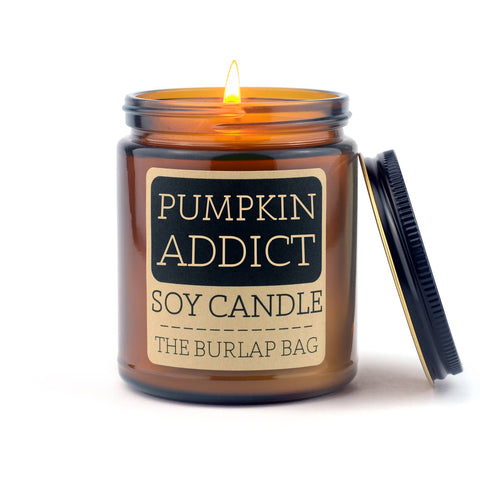 Pumpkin Addict Soy Candle 9oz - SEASONAL