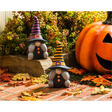 Ceramic Witchy Gnome Garden Statuary 2 styles
