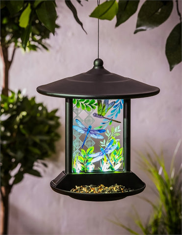 Dragonfly Solar Bird Feeder