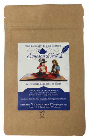 Lewis Carroll's Black Tea Blend - 1oz