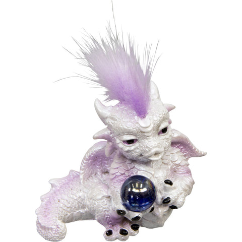 Baby Dragon Figurine w/Sphere