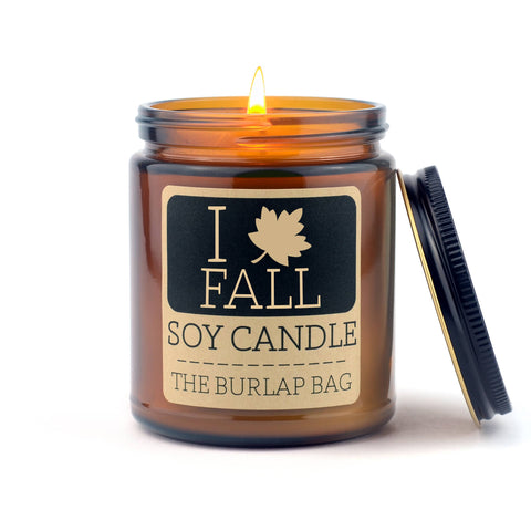 I love Fall Soy Candle 9oz - SEASONAL
