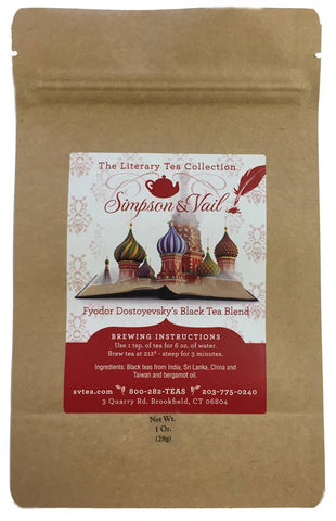 Fyodor Dostoyevsky's Black Tea Blend - 1oz