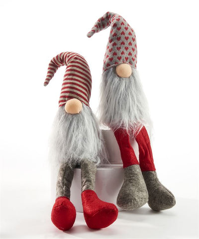 Holiday Gnome Plush Table Decor 2 atyles