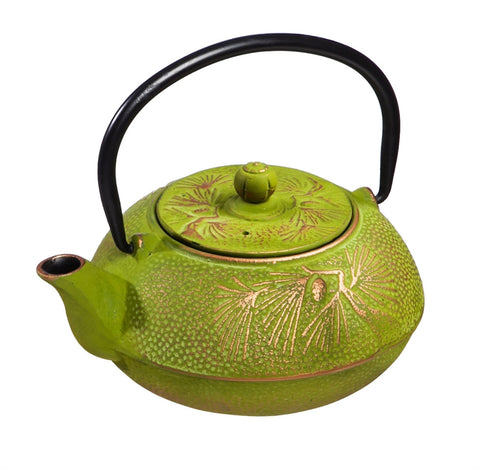 Green Cast Iron Serene Teapot