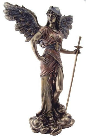 Archangel Gabriel Statue: Angel of Revelation - 12.5 Inches