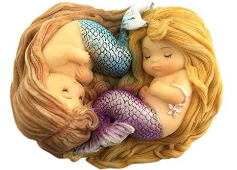 Sleeping Little Mermaid Friends