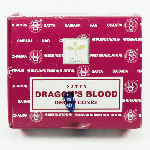 Dragon's Blood Incense (Dhoop) Cones